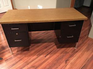 "Metal Desk for Sale (54"" x 24"")"
