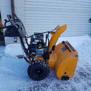 """Poulin Pro 27"""" 2 stage snow blower electric start"""