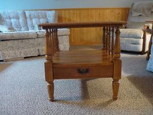 Roxton Maplewood Table (Living Room or Bedroom)