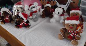 Sears Christmas Beanbag Animals