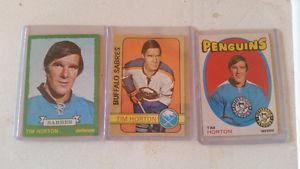 TIM HORTON CARDS