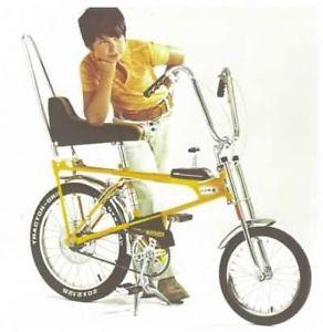 Wanted: Wanted old banana bicycles and parts