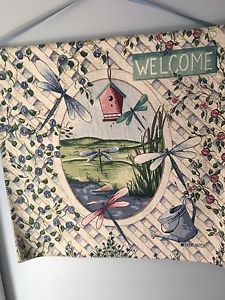 Welcome tapestry wall hanging for sale