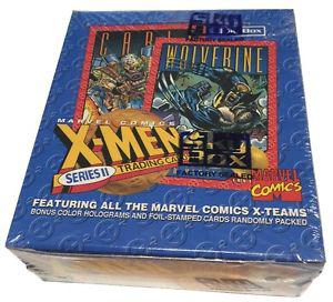 X-Men Sky Box Series II Factory Sealed Box 36 Wax Packs