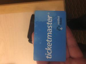 $150 ticket master gift card
