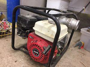 "3"" water pump 6.5hp"