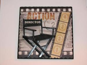 ACTION DIRECTOR PLAQUE