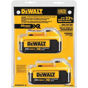 BRAND NEW DeWALT 4AH Baterry Twin/Double Pack With Fuel