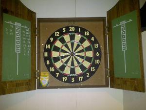 Cabinet Dart Board