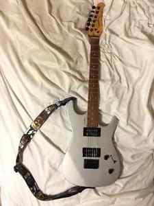 Godin Detour Electric Guitar w/ Amp & Stand