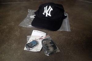New York baseball hat with hidden spy camera