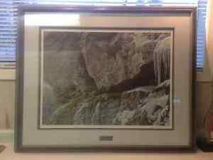 Robert Bateman ' At the Cliff-Bobcat '