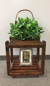 Rustic Accent/ Side Table For Sale