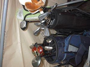 Two Sets of clubs