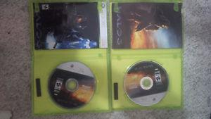 Two copies of Halo 3 for Xbox 360