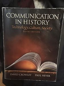 Wanted: Communication In History