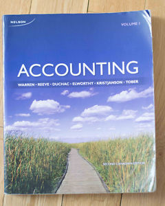 Accounting, Volume One