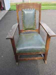 Antique rocking chair rocker vintage