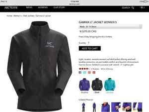 Arcteryx black womens medium coat. Like new