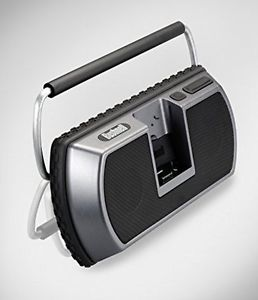 BUSHNELL Outdoor All weather Hefty Ipod Dock Aux TravelTunes