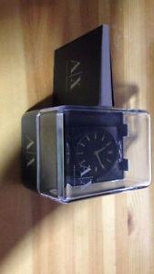 Black & Gold Armani Exchange Watch
