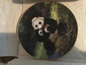 "Bradford Exchange ""The Panda"" plate"
