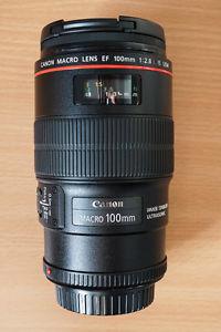 Canon EF 100mm. f/2.8L macro IS USM