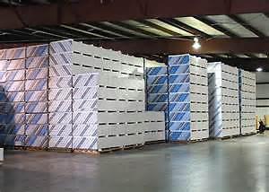 Drywall, Insulation, Steel studs, T-bar/grid