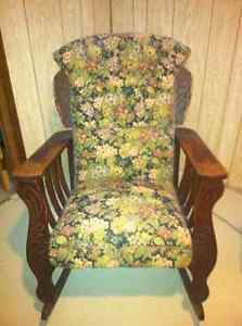 Early 's Antique Rocking Chair