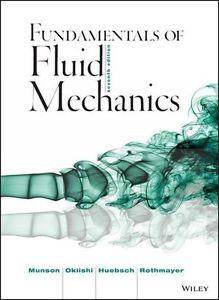 Fundamentals of fluid mechanics textbook and solutions