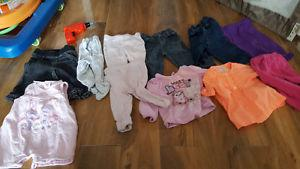 Girls clothes 0 to3 and 3 months