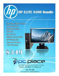 HP Elite  Desktop Bundle