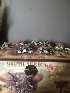 Mini die cast Harley Davidson