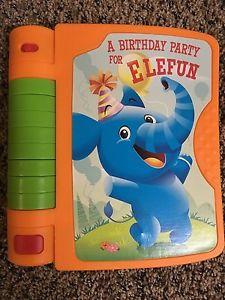Playskool Book - A Birthday Party for Elefun