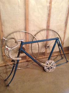 Road bike frame + parts