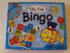 Silly Fish Bingo