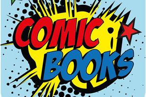 Wanted: looking to buy old comics books
