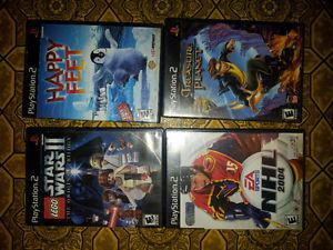 best offer i have 4 PS2 games for sale
