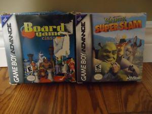2 Gameboy Advance Games