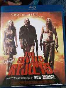 8 Blue ray package horror movies