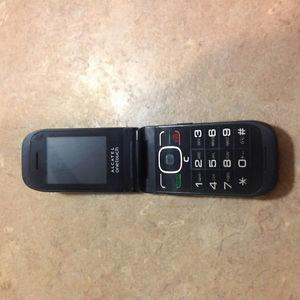 Alcatel Onetouch Flip phone with charger