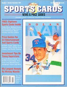 Allan Kaye Price Guide Nolan Ryan