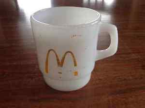 Anchor Hocking McDonalds Fire King Mug