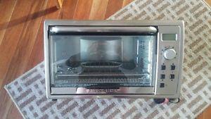 Black & Decker Kitchen Tools Digital Toaster Oven, 9-slice