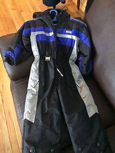 Boys 1 piece snow suit