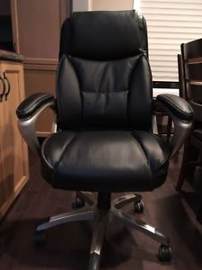 Brand New Black Leather Executive Office Computer Chair