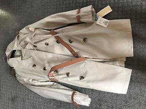 Brand New - Michael Kors trench coat (size small)