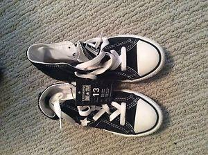 Brand new converse high tops size 13