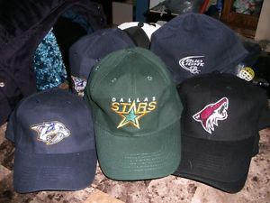 Caps - 9 Bud light NHL Caps.