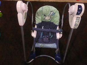 FS: Fisher Price - Smart Stages 3 in 1 Swing/Rocker/Infant